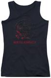 Juniors Tank Top: Mortal Kombat X - Bloody Seal Tank Top
