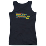 Juniors Tank Top: Back To The Future IIi - Logo Tank Top
