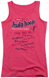 Juniors Tank Top: Whamo - Hula Moves Tank Top