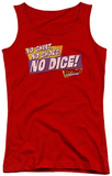 Juniors Tank Top: Fast Times Ridgemont High - No Dice Tank Top