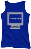 Juniors Tank Top: Doogie Howser - Computer Tank Top