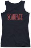 Juniors Tank Top: Scarface - Logo Womens Tank Tops