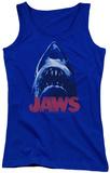 Juniors Tank Top: Jaws - From Below Womens Tank Tops