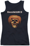 Juniors Tank Top: Halloween II - Pumpkin Shell Tank Top
