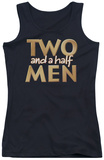 Juniors Tank Top: Two And A Half Men - Logo Tank Top