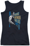 Juniors Tank Top: Mentalist - Between The Lies Tank Top