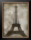 Vintage Eiffel I Print by Honey Malek