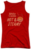 Juniors Tank Top: White Castle - Hot & Steamy Tank Top