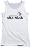 Juniors Tank Top: Shameless - Logo Tank Top