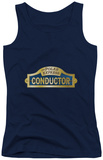 Juniors Tank Top: Polar Express - Conductor Tank Top