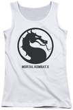 Juniors Tank Top: Mortal Kombat X - Seal Tank Top