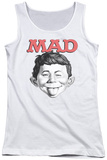 Juniors Tank Top: Mad - U Mad Tank Top