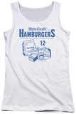 Juniors Tank Top: White Castle - 12 Cents Tank Top