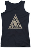 Juniors Tank Top: Revenge Of The Nerds - Tri Lambda Logo Tank Top