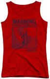 Juniors Tank Top: Whamo - Not A Toy Tank Top