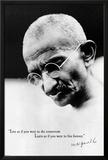 Gandhi Live Forever Prints