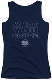 Juniors Tank Top: White Castle - Craving Tank Top