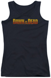Juniors Tank Top: Dawn Of The Dead - Dawn Logo Tank Top