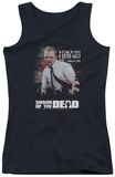 Juniors Tank Top: Shaun Of The Dead - Hero Must Rise Tank Top