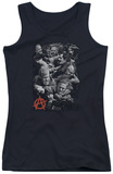 Juniors Tank Top: Sons Of Anarchy - Group Fight Tank Top