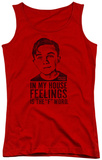 Juniors Tank Top: Malcolm In The Middle - F Word Tank Top