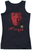 Juniors Tank Top: Hellboy II - I Bet On Red Tank Top