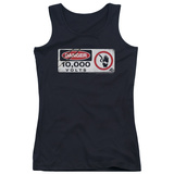 Juniors Tank Top: Jurassic Park - Electric Fence Sign Tank Top