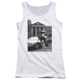 Juniors Tank Top: Back To The Future II - Einstein Tank Top