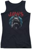 Juniors Tank Top: Jaws - Water Circle Tank Top