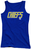 Juniors Tank Top: Slap Shot - Chiefs Logo Tank Top