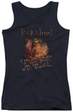 Juniors Tank Top: Trick R Treat - Rules Tank Top