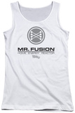 Juniors Tank Top: Back To The Future II - Mr. Fusion Logo Womens Tank Tops