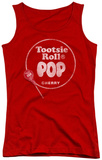 Juniors Tank Top: Tootsie Roll - Tootsie Roll Pop Logo Tank Top