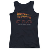 Juniors Tank Top: Back To The Future II - Future Is Here Tank Top