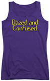 Juniors Tank Top: Dazed And Confused - Dazed Logo Tank Top