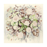 Wedding Flowers Giclee Print by Alison Cooper