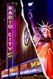 Dual Torn Posters Series - New York City Seinämaalaus tekijänä Philippe Hugonnard