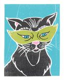Catnip Serigraph by  Print Mafia