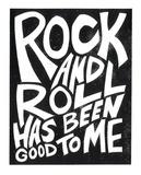 Rock N Roll 2015 Serigrafi af Print Mafia