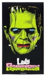 Lady Frankenstein Serigraph by  Print Mafia