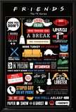 Friends Infographic Print