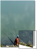 A Fisherman Casts His Line Posters by Arben Celi