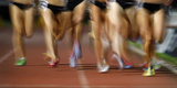 Competitors Race in the Women's 800 Metres During the Sydney Track Classic Photographic Print by TIM WIMBORNE