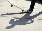 Feature Sport Skateboarding Hoffart Photographic Print by Mike Blake