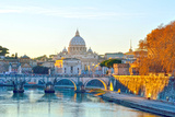 Tramonto a Roma (Hdr) Photographic Print by  maudanros