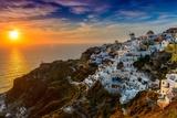 Santorini,Greece Fotografisk tryk af Pavel Timofeev