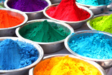 Colors of Holi Photographic Print by  thefinalmiracle