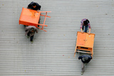 Workers Carry Goods in Shanghai Photographic Print by Aly Song