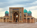 Hast Imam Square (Hazrati Imam) is a Religious Center of Tashken Photographic Print by  barelko com