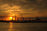 Ilyichevsk Port Photographic Print by  vector_master